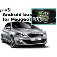 Buy cheap Peugeot 208 2008 308 3008 508 Audio Video Interface SMEG+ MRN SYSTEM Upgrade WIFI BT Mirror Link from wholesalers