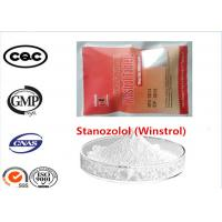 Buy cheap 99% Purity Steroid Powder Winstrol Stanozolol Cas 10418-03-8 For Muscle Gain from wholesalers