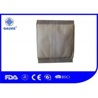 China Disposable Soft Wound Care Dressings White Cotton Abd Pads For Personal Care on sale