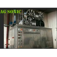 Buy cheap 4500W Industrial Sonic Cleaning Tank / Tyre Washing Machine With Pneumatic Lift product