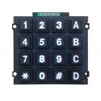 Buy cheap Rugged cheap plastic numeric keypad supply with 16 keys, high quality from wholesalers