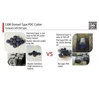 Buy cheap 1308 Domed Type PDC Cutter,polycrystalline diamond pdc cutter from wholesalers