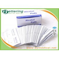 Buy cheap First Aid Medical Sterile Alcohol Prep Pads / Alcohol Prep Swabs Non Woven Material from wholesalers