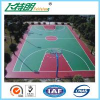 Buy cheap Silicon PU Sports Flooring Polyurethane Floor Paint Outdoor Basketball Court Paint from wholesalers