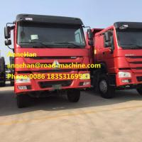 Buy cheap 40T International Dump Truck 6 x 2 336hp With One Spare Tire Front Lifting from wholesalers