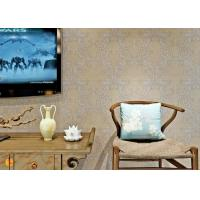 China PVC Wall Coverings Victorian Damask Wallpaper with Tear - resistant , ISO certification on sale