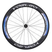 Buy cheap 2016 Yoeleo Blue Carbon Clincher 60mm Bike Wheels With Novatec A291/F482 Hubs Sapim Spokes,Triathlon Bike* from Wholesalers