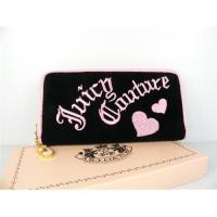 Buy cheap Paypal,Juicy Couture Heart Velour Wallet Black from wholesalers