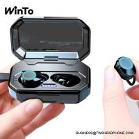 Buy cheap X6 IPX6 waterproof Bluetooth 5.0 wireless earbuds, with 3000 mAh big capacity charging box, breathing lights, deep bass from wholesalers