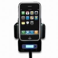 Buy cheap 9-in-1 Bluetooth Car Kit FM Transmitter for iPhone, with USB and Removable Stopper from wholesalers