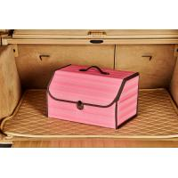 Buy cheap Pink Foldable Car Trunk Organizer Waterproof Multi Function 1.8KG Unit Weight product