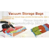 Buy cheap Hot sale nylon PE laminated plastic vacuum storage bag for clothes, super-large vacuum storage compression jumbo bag from wholesalers