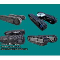 Buy cheap Steel track undercarriage crawler chasis 0.5ton-100ton from wholesalers