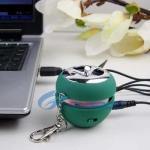Buy cheap New Mini Apple Shape USB Speaker from wholesalers