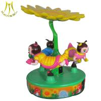 Buy cheap Hansel fiberglss kiddie ride nemo world carousel horses sale from wholesalers