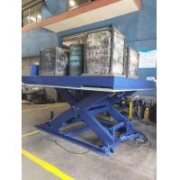 Buy cheap Loading Hydraulic Scissor Lift Dock Leveler With Emergency Button And Safety Valves from wholesalers