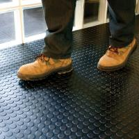 Buy cheap Interlocking Industrial PVC Vinyl Floor Tiles Garage Floor PVC Mats from wholesalers