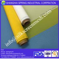Buy cheap Screen Printing on 100% Polyester Mesh/120T Yellow or White/Bolting Cloth from wholesalers