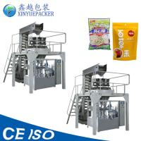 Buy cheap Reliable Rotary Pouch Packing Machine / Zipper Pouch Packing Machine For Granules from wholesalers