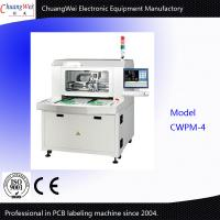 Buy cheap Three Axis Workbench Automatic Feeder Label Printing Machines On PCB from wholesalers