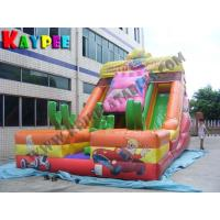 Buy cheap Inflatable car slide.inflatable jumper Bouncy Castle from wholesalers