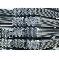 Buy cheap Structural Unequal Leg Angle Profile Steel , Hot Rolled Standard Steel Angles from wholesalers