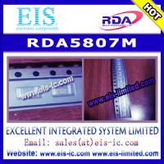 Buy cheap RDA5807M - RDA - SINGLE-CHIP BROADCAST FM RADIO TUNER from wholesalers