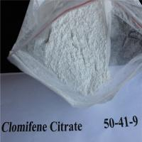 Buy cheap Bodybuilding Clomiphene Citrate Powder Anti Estrogen Clomid 50-41-99 from wholesalers