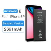 Buy cheap Long Standby Iphone Internal Battery 8 Plus Zero Cycle 100% Cobalt Material from wholesalers