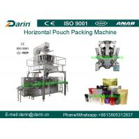 Buy cheap Continuous Automatic liquid doypack pouch milk packet packing machine from wholesalers