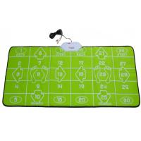 Buy cheap 32 Bit TV PC USB Game Interactive Dance Mat Green For 2 Players from wholesalers