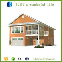 Buy cheap low cost time-saving pre manufactured homes prefabricated villa from wholesalers