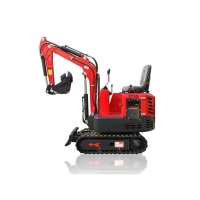 Buy cheap Famous Brand 1ton Small Crawler Excavator Hot Sale Multifunction Mini Digger With CE from wholesalers