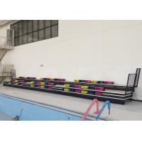 Buy cheap Automatic Retractable Outdoor Stadium Seating With 460mm Minimum Spacing from wholesalers