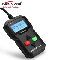 Buy cheap High quality car diagnostic scanner universal KONNWEI unique mould KW590 with 2.4 inches screen from wholesalers
