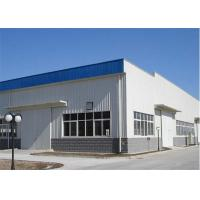 Buy cheap Pre Manufactured Light Steel Structure Warehouse With EPS / Rockwool / PU Insulation from wholesalers