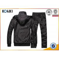 Buy cheap Sport Uniform Custom Hooded Sweatshirts With Black Color Fashion Style from wholesalers