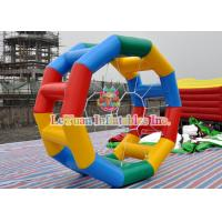 Buy cheap Rolling Cylinder Inflatable Water Wheel For Commercial Rental Business from wholesalers