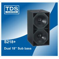 Buy cheap Martin Speaker High Output 131dB continuous,138dB peak S218+ For Audio Speakers Subwoofer from wholesalers