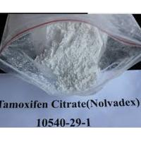 Buy cheap Oral or Injectable Raw Weight Loss Powder 10540-29-1 Estrogen Nolvadex Tamoxifen Citrate from wholesalers