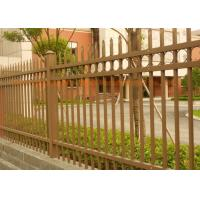 Buy cheap Custom Metal Security Fence Panels , Powder Coated Garden Safety Fence WeatherProof from wholesalers