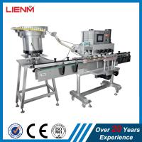 Buy cheap LIENM Factory automatic shampoo,liquid soap,detergent,high speed capping machine,Screw Capping Machine With Cap Sorting from wholesalers