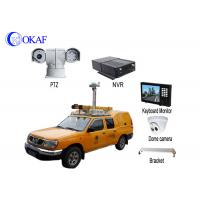 Buy cheap Infrared HD Auto Vehicle PTZ Camera 360 Degree Rotation 4G Dynamic Forensic System from wholesalers