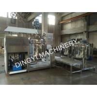 High Shear SS316L Vacuum Emulsifying Mixer Machine24Kw Full Automatic Scraper