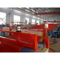 Buy cheap PVC Soft Floor Mat Extruder Machine , Coil carpet Production Line from wholesalers