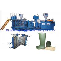 Buy cheap Multi Colors Women Men Gumboots Shoe Factory Machinery 16/12 PCS Mold Stations from wholesalers