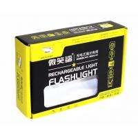 Buy cheap Custom Printed Corrugated Boxes for Flashlight Packaging / Electric Torch Packaging from wholesalers