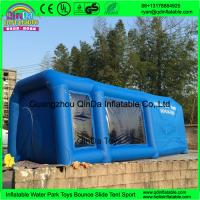 Buy cheap QinDa inflatable paint booth,inflatable spray booth,inflatable car spray/paint tent for sale from wholesalers