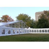 Buy cheap Strong Frame Heavy Duty Tents For Camping , Clear Roof Wedding Tent With 300 Person Seat from wholesalers
