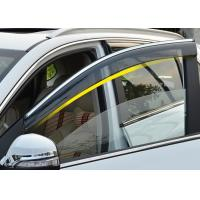 Buy cheap Injection Molding Window Visors with Trim Stripe For Chery Tiggo5 2014 2016 from wholesalers